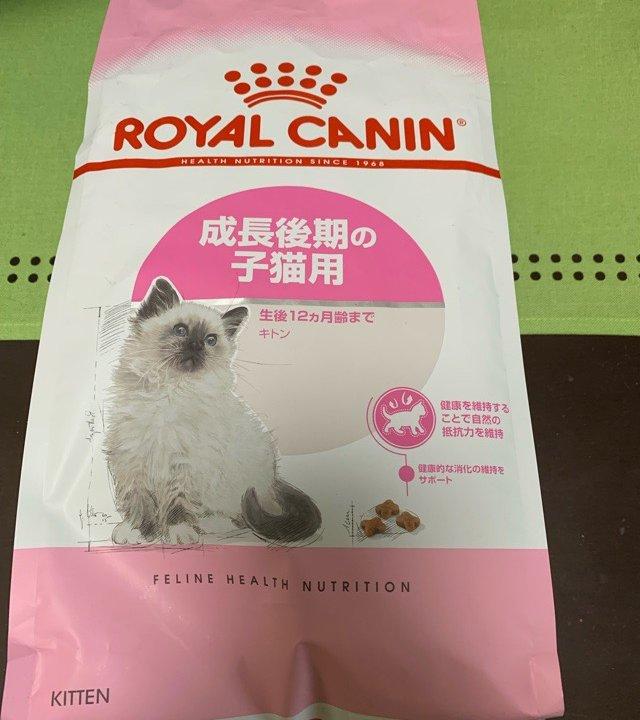 ロイヤルカナン猫のご飯