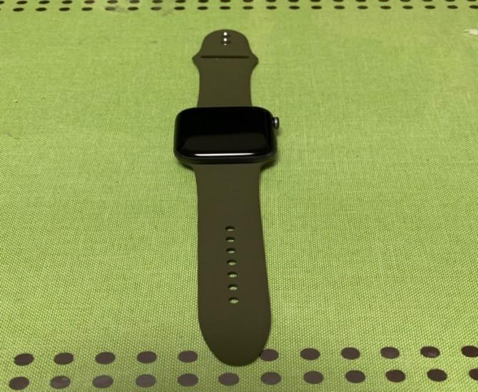 Nywing コンパチブル シリコンバンド アーミーグリーン 44mm
