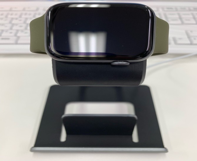 Mercase Apple Watchスマホ充電用スタンド グレー