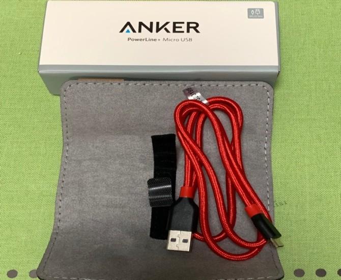 アンカー 充電ケーブル