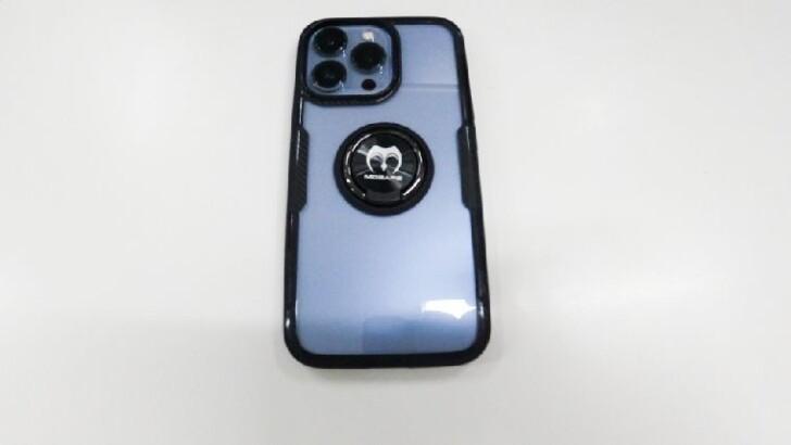 Mosafeの「iPhone13Pro用リング付きスマホケース」:おすすめ